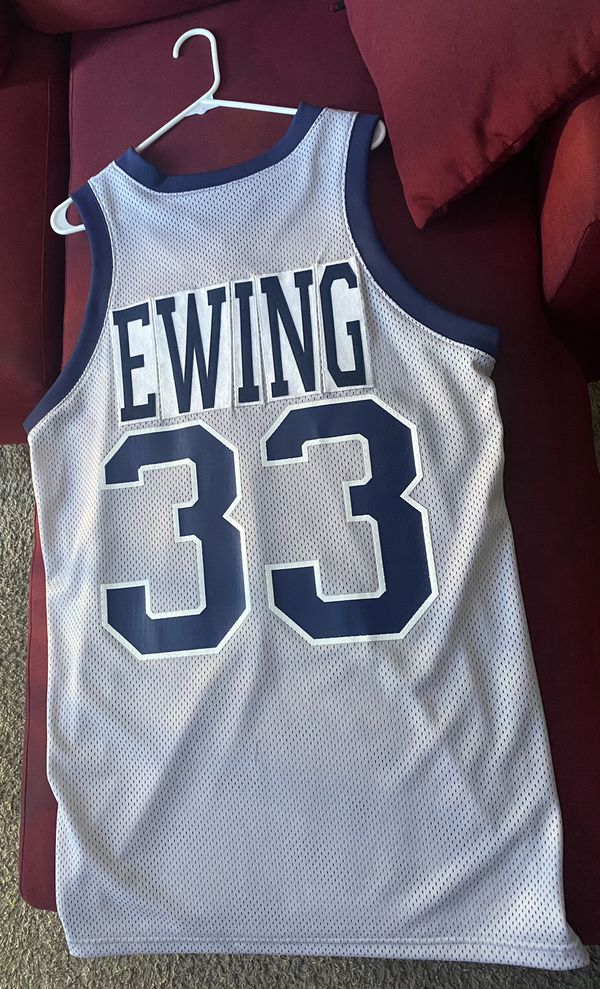 Patrick Ewing Georgetown men's basketball jersey old school