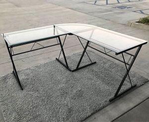 New in box 60x60x30 inches tall L shape corner desk home office computer desk for Sale in Covina, CA
