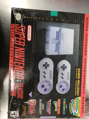 Super Nintendo Classic for Sale in Philadelphia, PA