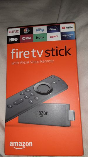 Fire TV Stick with Alexa Voice Renote (Amazon) for Sale in KIMBERLIN HGT, TN