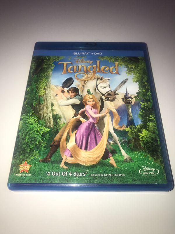Disney's Tangled Blu-ray