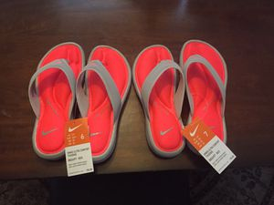 Two Pair Nike Women's Ultra Comfort Thing (Size 6&7) for Sale in Jacksonville, FL
