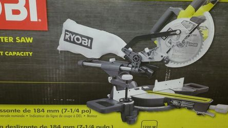 Ryobi Sliding Miter Saw TSS702 for Sale in Los Angeles,  CA