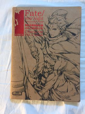 Fate Stay Night Official Character Draft Work for Sale in Los Angeles, CA