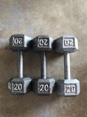 20lb dumbbells for Sale in Carson, CA