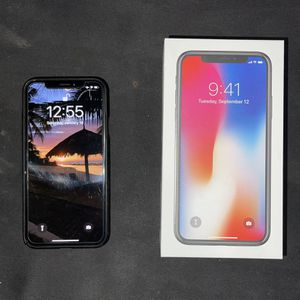 Iphone X 256Gb Unlocked for Sale in Brockton, MA