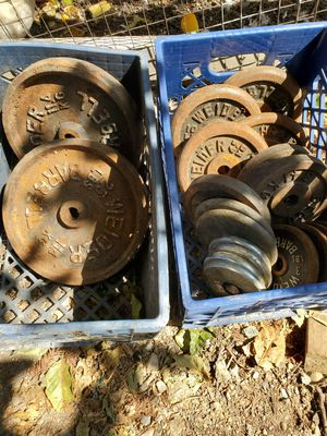 "1"" standard weights 152lbs for Sale in Watsonville, CA"