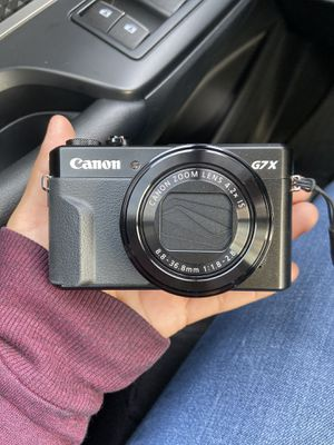 Canon Powershot G7x for Sale in Blue Island, IL