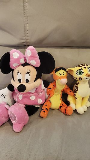 3 Disney Plushies for Sale in Rancho Cordova, CA