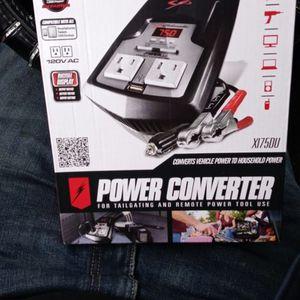 Power Converter Digital 750/1500 Peak Watts for Sale in Fresno, CA