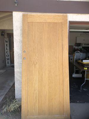 Solid Oak 8 feet Tall Door for Sale in Las Vegas, NV