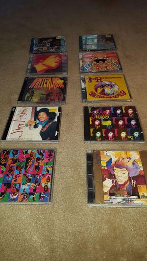 10 CD's of Jimi Hendrix music for Sale in Alexandria, VA