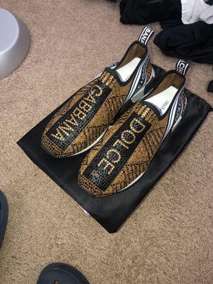 Dolce & Gabanna Sorrento Jeweled Logo Sneaker for Sale in Herndon, VA