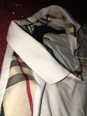 Burberry London ( white ) shirt for Sale in Dallas, TX