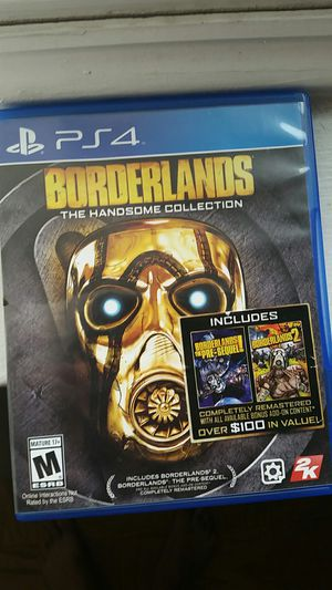 Borderlands: The Handsome Collection PS4 for Sale in Rockville, MD