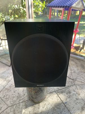 SONY SA-W2500 Active Subwoofer for Sale in North Fort Myers, FL