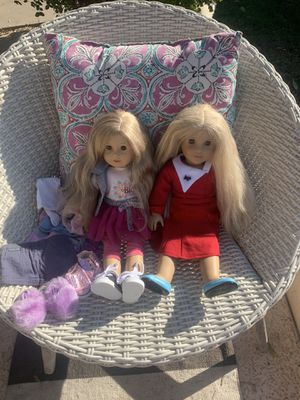 Two American Girl Dolls/Clothing Lot for Sale in Phoenix, AZ
