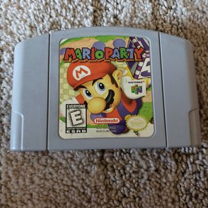 Mario Party Nintendo 64 for Sale in South Gate, CA