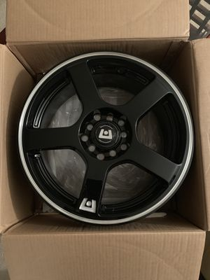 """16"" Motegi rims with tires. 5x100mm. for Sale in Lutz, FL"