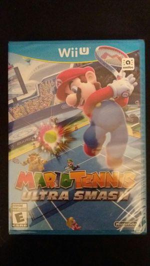 MARIO TENNIS Ultra Smash (Nintendo Wii U) NEW! for Sale in Lewisville, TX