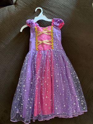 Princess Rapunzel toddler dress 3-4 for Sale in Buckeye, AZ