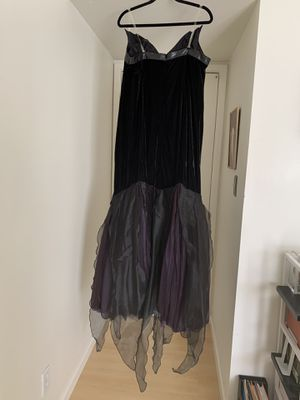 Official Disney Ursula costume, crown, mask, Gold shell; $60 for Sale in Tempe, AZ