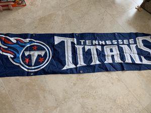 Titans Banner for Sale in Fort Lauderdale, FL