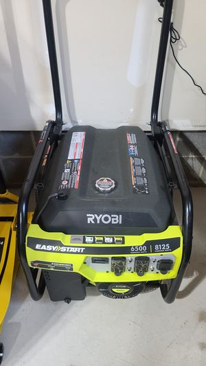 Ryobi 8125W Gas Generator for Sale in Fieldsboro, NJ