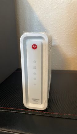 Motorola Surfboard SB6141 DOCSIS 3.0 High-Speed Cable Modem- White for Sale in San Diego,  CA
