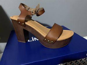 Cognac platform sandals for Sale in Greenbelt, MD