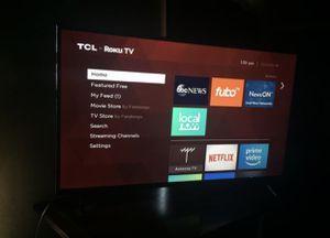 TCL ROKU TV 49INCH W BOX for Sale in Manassas, VA