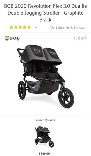 Bob Lunar Double Stroller for Sale in Lake Forest, CA
