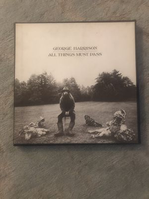 George Harrison. ALL THINGS MUST PASS 3 LP for Sale in Columbus, OH