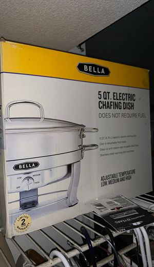 5 quart chafing dish for Sale in San Marcos, CA