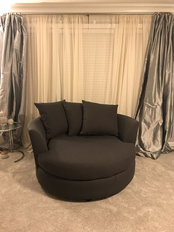Z Gallerie Cuddler Couch Chair Sofa