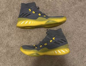 "Adidas Crazy Explosive 2017 Primeknit ""Grey Yellow , Sz 11 for Sale in Anchorage, AK"