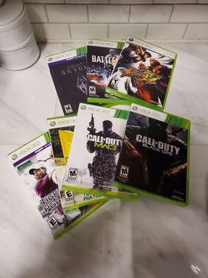7 Xbox 360 games for Sale in Rincon, GA