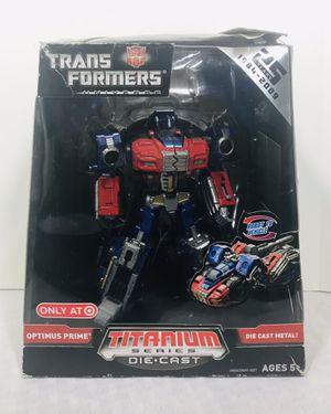 2008 Hasbro Micro Machines Optimus Prime 25th Titanium series Diecast Target exclusive for Sale in Pawtucket, RI