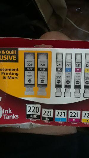 """Canon printer ink """"6ink Tanks"""" for Sale in Glendora, CA"""