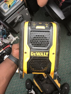 Radio Am FM , Tools-Power Dewalt Radio ... Negotiable for Sale in Baltimore, MD