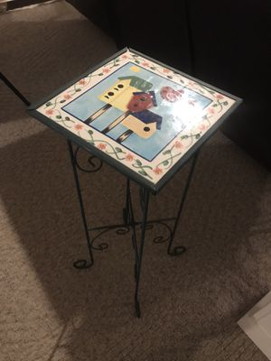 Small plant table for Sale in Baxter, MN
