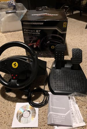 Thrusmaster Ferrari GT racing wheel for PS3, PC for Sale in Ashburn, VA