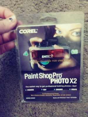 Paint Shop Pro 4GB USB drive for Sale in Knoxville, TN