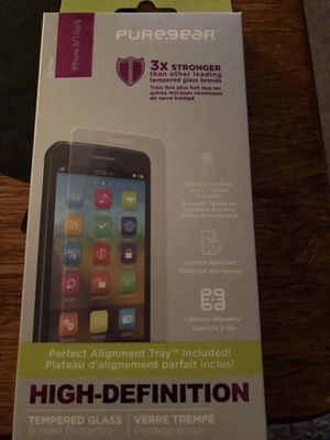 iPhone 8/7/6s/6 3x strong Screen Protector for Sale in Virginia Beach, VA
