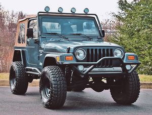 2000🍀Jeep Wrangler TJ Lifted🍀Loaded 4WD No Issues-For Sale!!!-$1000 for Sale in Fresno, CA