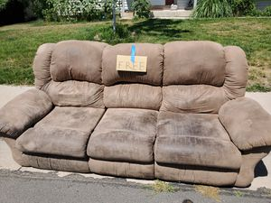 Free reclining couch for Sale in Denver, CO