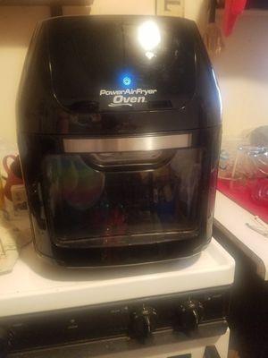 7 in 1 power air fryer. Dehydrator, oven, microwave. Pizza oven, rotisserie, deep fryer , air fryer for Sale in Sturgis, MI