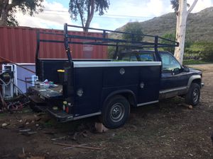 1998 Chevy K3500 Royal 8 ft. Utility Body with Rack - $1500 for Sale in San Marcos, CA