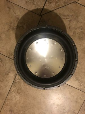 Subwoofer t1 punch 600 rms for Sale in Glendale, AZ