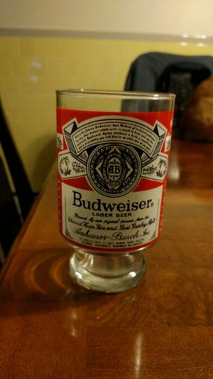 Budweiser collectable glass for Sale in Providence, RI